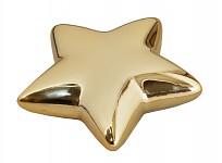Aranžovací podložka - hvězda proutí zlatá - velká 4 bodce
