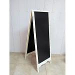 Dřevěná křídová tabule - stojací A
