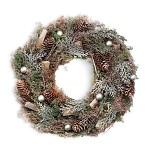 Věnec vánoční šišky a větvičky - 38 cm
