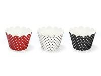 Košíček na cupcakes (muffin) - berušky - 6ks