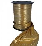 Fólie zlatá stuha - 12,5 cm / 1m