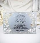 Svatební oznámení 3-2043 STŘÍBRNÉ