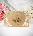 Svatební oznámení 3-2043 ZLATÉ