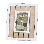 Fotorámeček dřevěný provence styl - 23 x 28 cm