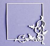 Chipboard - výsek - rámeček VIII. - 1 ks