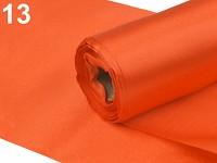 Saténová role -   oranžová - 15cm/9m