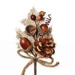 Rannunculus zápich - 2 květy - narůžovělý