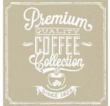Ubrousky vintage - coffee