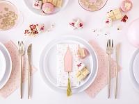Jmenovky na stůl  - sweets - puntíky - 6ks