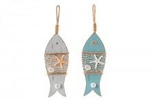 Závěsná dekorace - věšák ryba