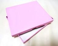 Krabička 20 x 15 x 2 cm  -  na DVD a fotky - růžová