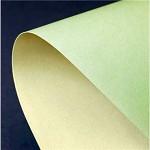 Tvrdý oboustranný papír - zelená/ivory - A4