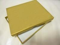 Fotozásobník - krabička zlatá - naše svatba