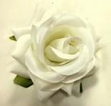 Hlavičky poupat růží - bílé mini