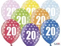Narozeninové balonky - 20. narozeniny - 1 ks