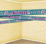 Fóliový nápis - HAPPY BIRTHDAY