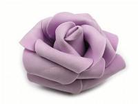 Růžička velká pěnová - sv.fialová - 1ks