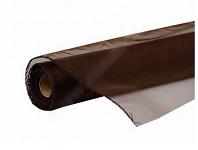 Organza šerpa - hnědá - 30cm/10m