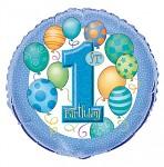 Foliový balonek - 1. narozeniny KLUK