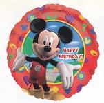 Foliový balonek šťastné narozeniny  45cm - Mickey Mouse