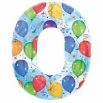 Foliový balonek maxi  - číslo - motiv balonky