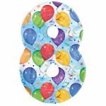 Foliový balonek maxi - číslo 8