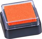Razítkovací polštářek - mini - oranžový