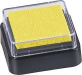 Razítkovací polštářek - mini - žlutý