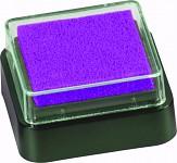 Razítkovací polštářek - mini - tm.fialový