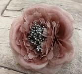 Hlavička růže snow - starorůžové