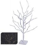 Strom bílý 90 cm - svítící LED světlo