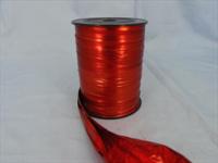 Fólie červená stuha - 12,5 cm / 1m