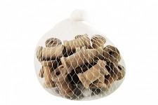 Dekorace dřevěná  - špulka mini hnědá 1ks