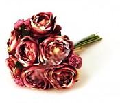 Kytice - camellia - burgundy