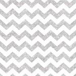 Ubrousky - chevron stříbrné