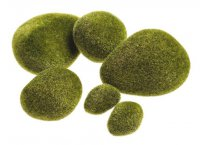 Mechové kameny - 6ks