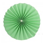 Rozeta závěsná - sv.zelená 30cm