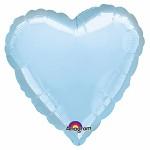Foliový balonek srdce sv. modré