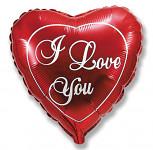 Foliový balonek srdce fuchsia - Bride to be - 42 cm