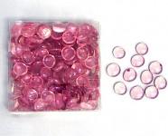 Skleněné kamínky růžovofialové - 600 g