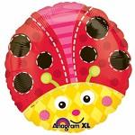 Foliový balonek beruška - 43 cm