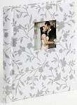 Svatební fotoalbum - Bridal s lístky  - samolepicí