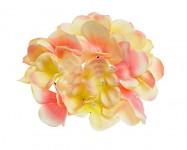 Vazbový květ hortenzie - vanilkovorůžový malý