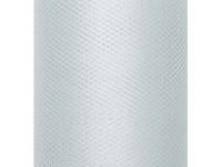 Tyl dekorační 30cm - šedý - 1m