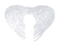 Andělská křídla maxi - bílá - 76x 55 cm