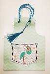 Dárková narozeninová taška - růžová s balónky