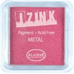 Razítkovací polštářek velký - metalický růžový