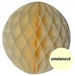 Honeycomb - koule krémová - 15 cm