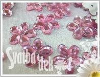 Kytičky drobné - sv.růžové - 100ks