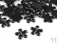 Kytičky drobné - černé - 100ks